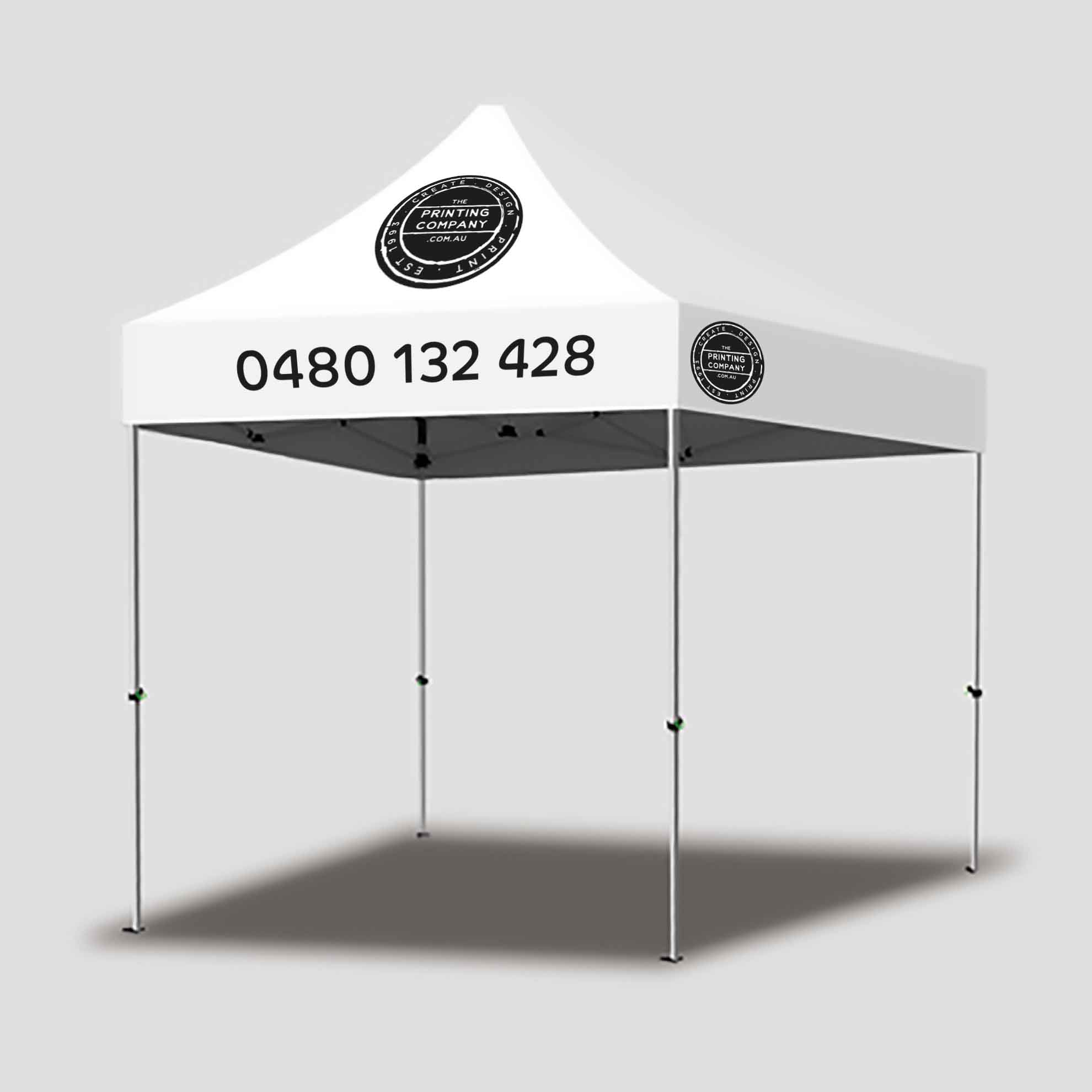 Marquee Frame with Custom Printed Canopy