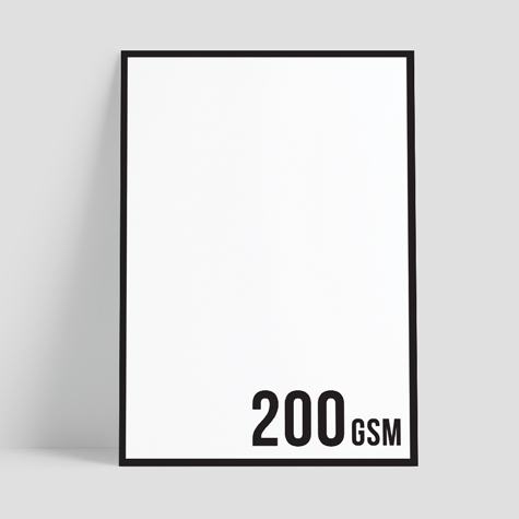 200gsm Synthetic Poster