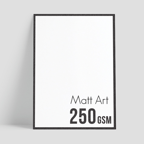 250gsm Matt Art (by HP Indigo 7800)